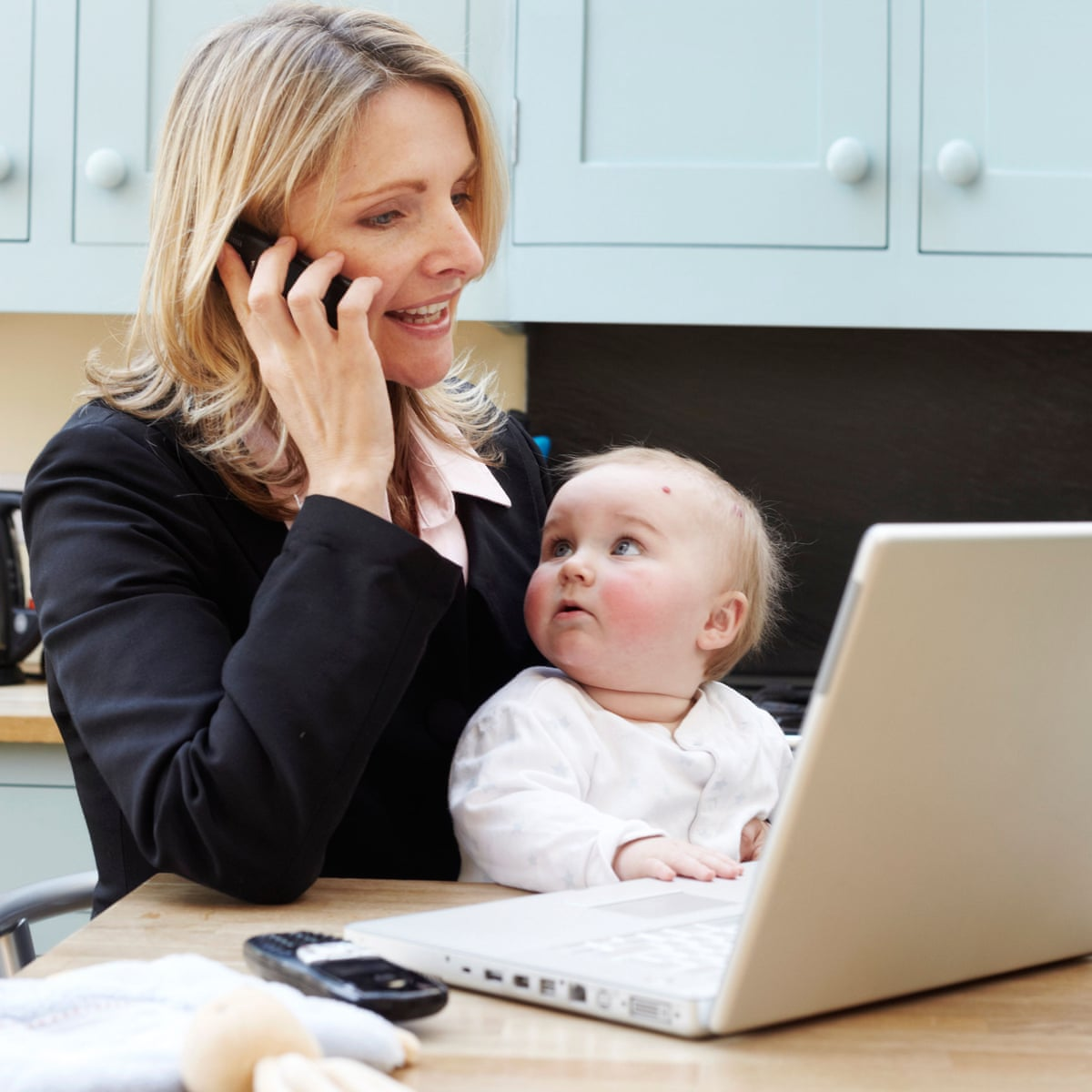 Young Uk Women With Children Less Likely To Find Work Report Says Oecd The Guardian