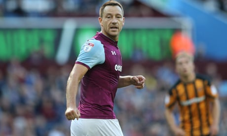 John Terry could miss Chelsea games under new Aston Villa deal