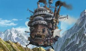 Fantastical feuds … Howl's Moving Castle.