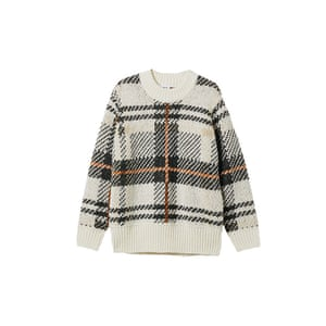 Checked jumper, £55, weekday.com