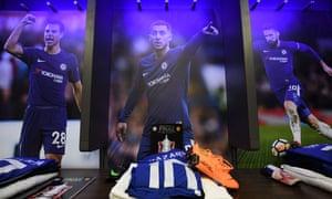 Chelsea's dressing room.