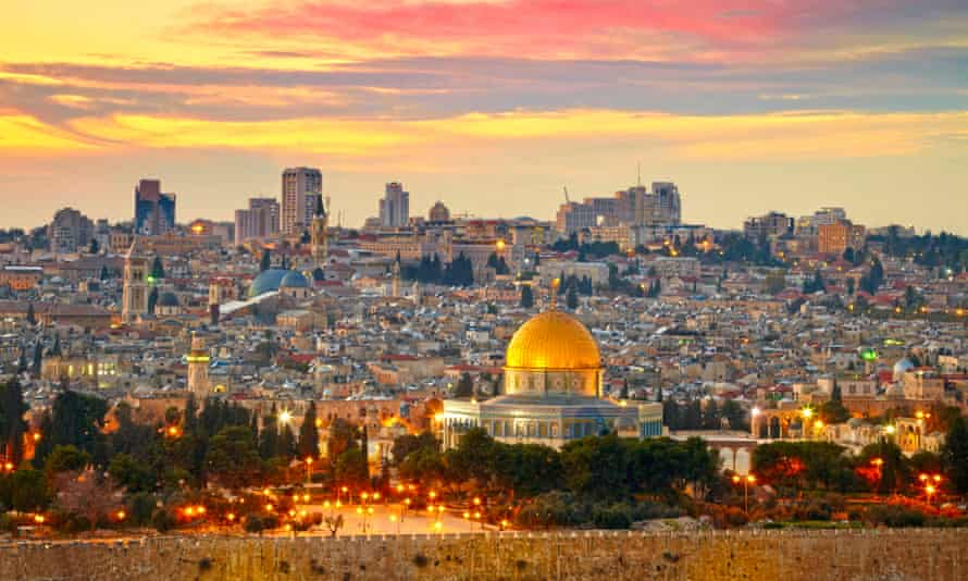 View of Old City in Jerusalem, Israel