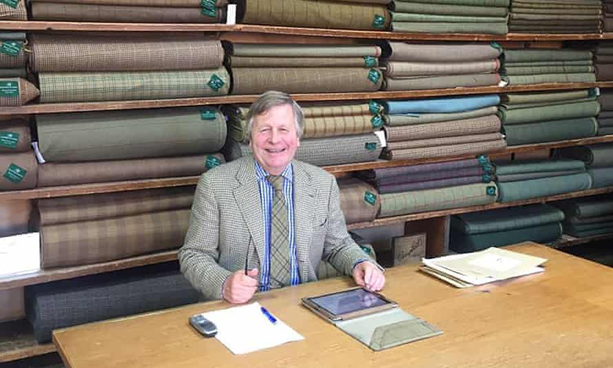 James Sugden was committed to training young people in textile skills