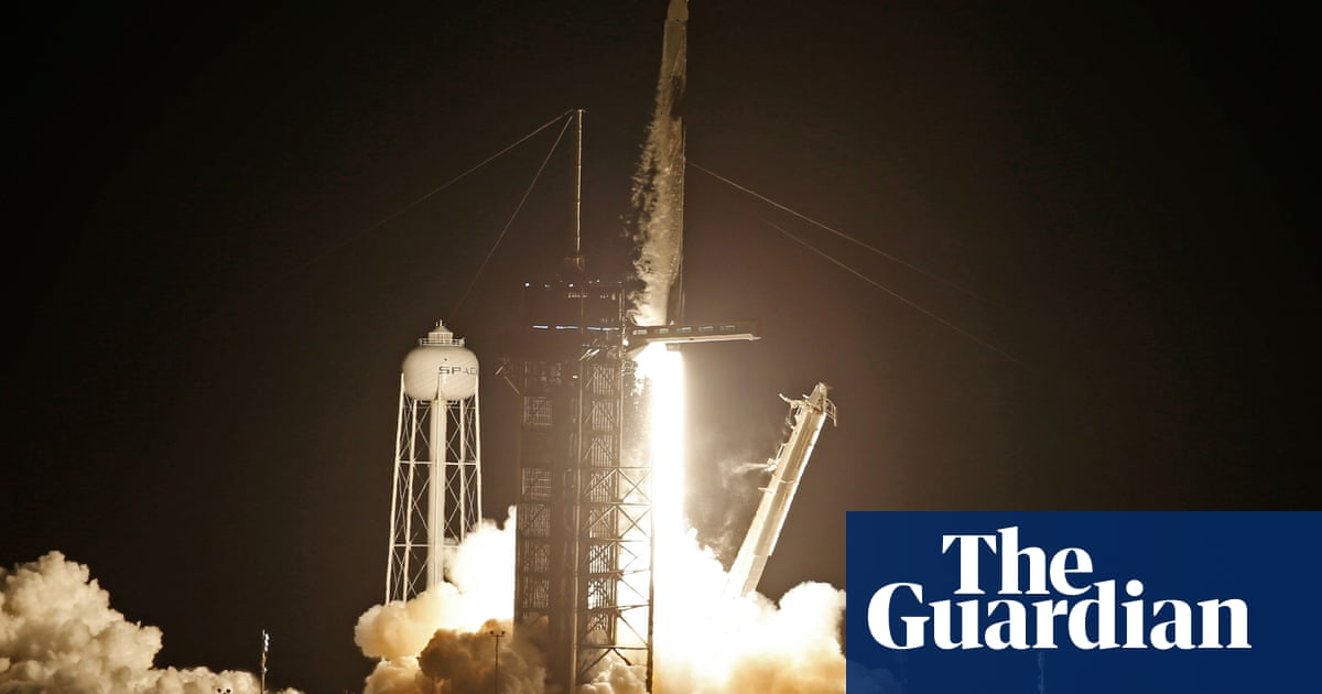 SpaceX makes history with first all-civilian crew launched into orbit – video