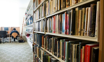 The Southbank Centre's poetry library