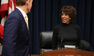 Maxine Waters on Capitol Hill Wednesday in Washington DC.