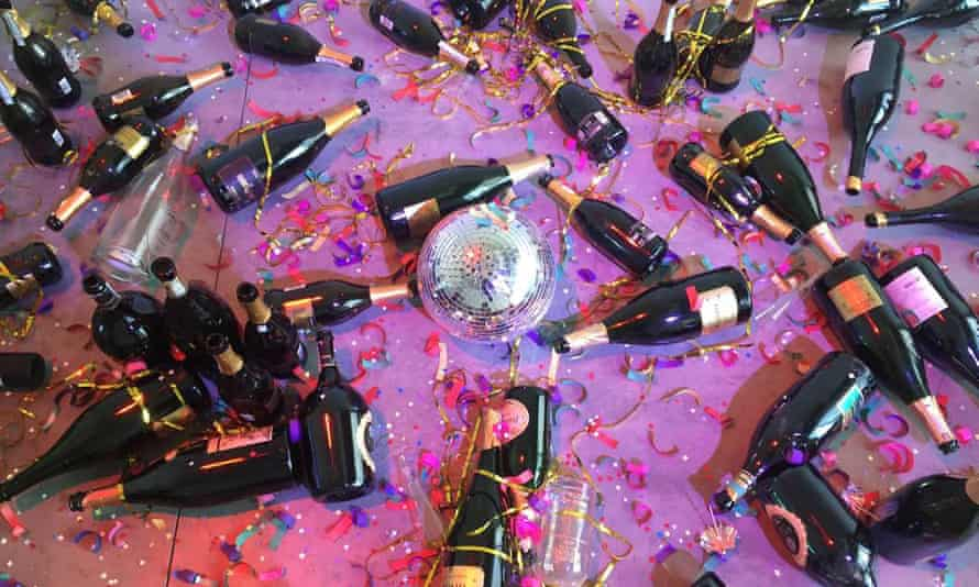 Sara Goldschmied and Eleonora Chiari's installation Where Shall We Go Dancing Tonight?, which cleaners in Italy understandably mistook for the aftermath of a party.
