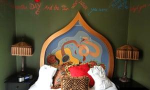 """""""Drunken Angel"""" room at the Crystal Hotel"""