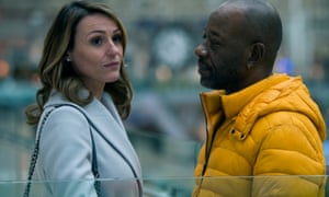Snubbed? ... Lennie James and Suranne Jones in Save Me.