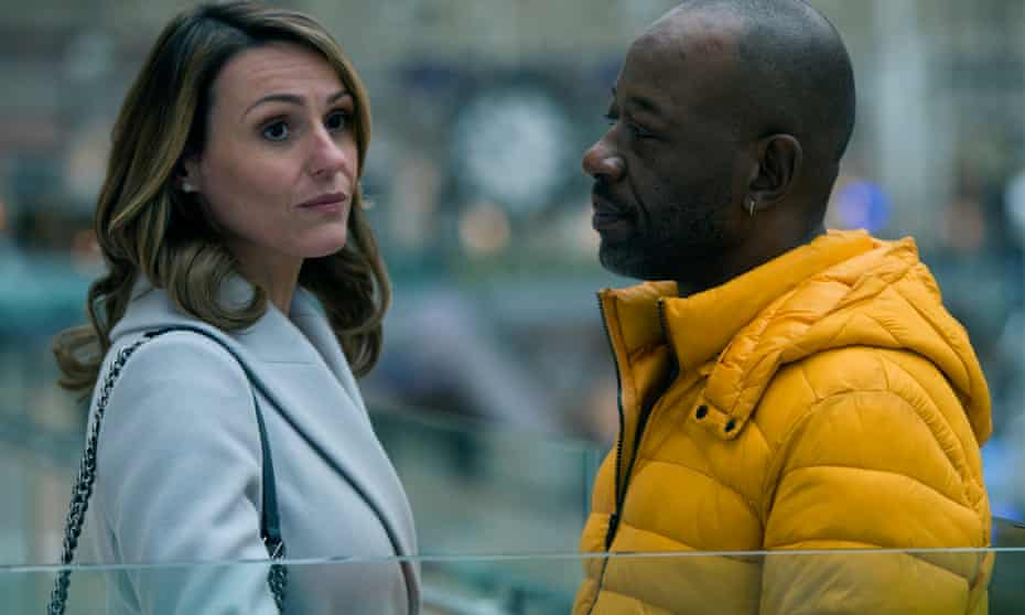 """Suranne Jones as Claire McGory and Lennie James as Nelson """"Nelly"""" Rowe."""