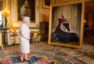 Windsor, England: Queen Elizabeth II