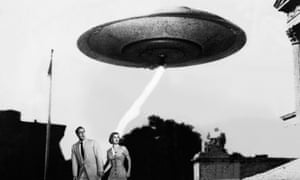 Standard UFO design in Invasion of the Flying Saucers (1956). Photograph: Sportsphoto Ltd/Allstar