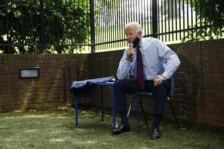 Trump Mocks Basement Strategy But Prudent Approach Pays Off For Biden Joe Biden The Guardian
