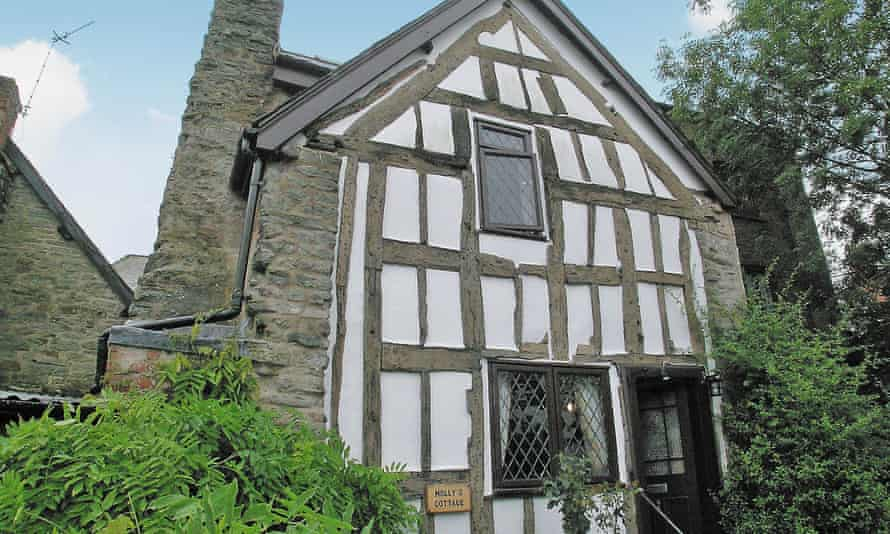 Molly's Cottage in Knighton, Wales