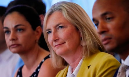 Sarah Wollaston, centre, warned former Tory colleagues are highly unlikely to support Corbyn.