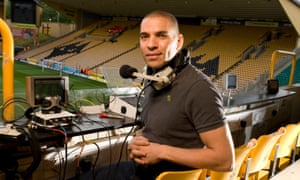 Talksport radio presenter Stan Collymore.