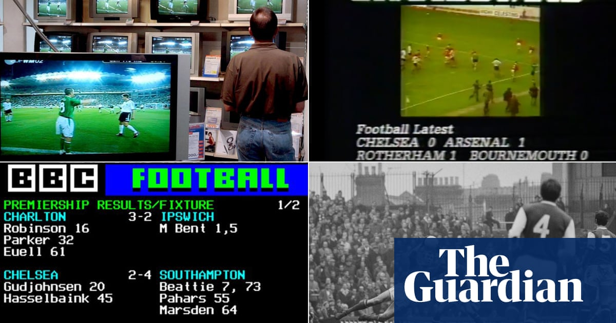 The lost art of tracking down sports scores: from shop loitering to Teletext