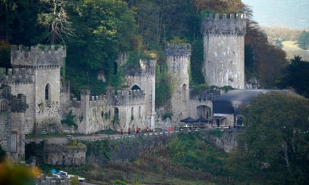 Gwyrch Castle, where this year's show is taking place.