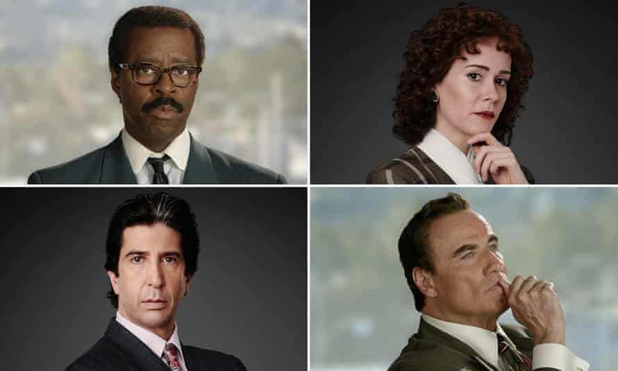 The cast of The People vs OJ Simpson: American Crime Story