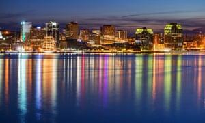 Halifax seafront.