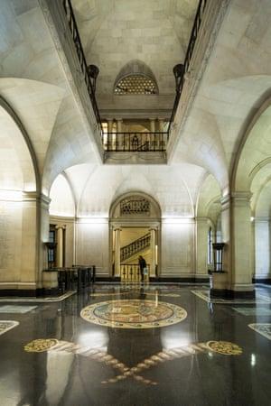 The Bank of England interior