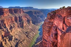 Colorado River in Grand Canyon at Toroweap.