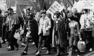 A CND march in Chiswick, London, 1968
