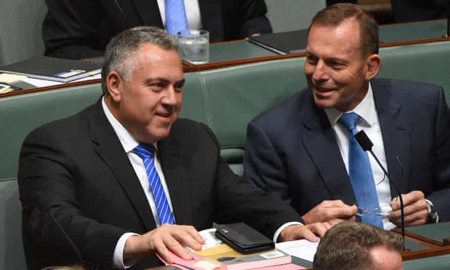 Joe Hockey Tony Abbott