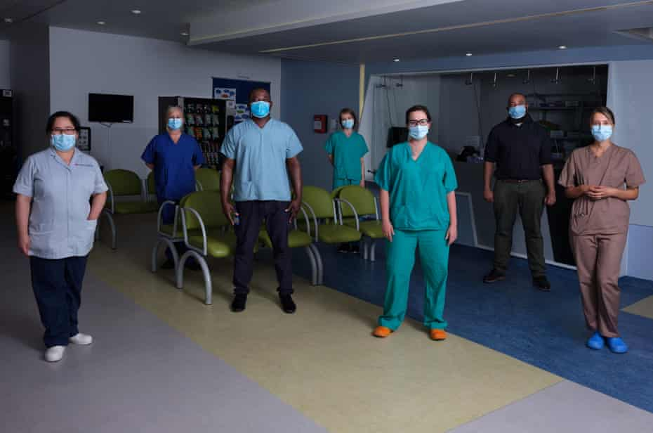 Royal Free Hospital team