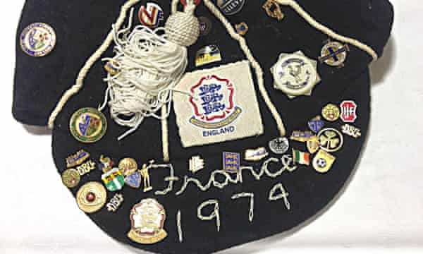 Liz Deighan's England cap.