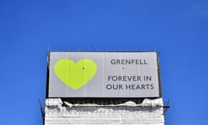 The Grenfell Tower, site of a deadly fire that killed 72 people in June 2017.