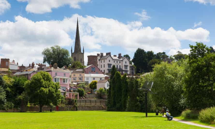 Ross-on-Wye, where the 24-hour drive-through has been proposed for St Mary's Garden Village