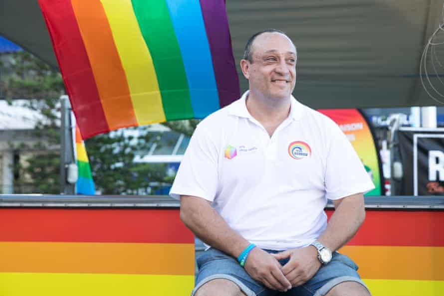 Matt Hall at Pride House