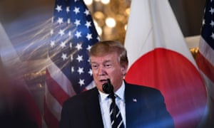 Trump's visit to Japan is largely ceremonial.
