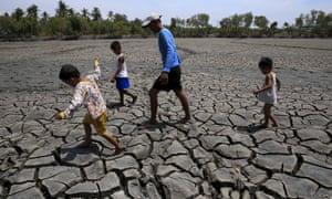 children drought