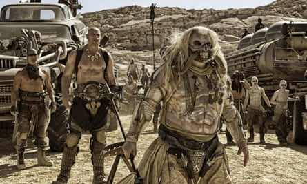 Costume drama: Hugh Keays-Byrne wears an outfit designed by Jenny Beavan in Mad Max: Fury Road.