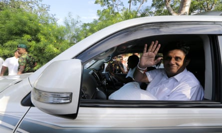Sajith Premadasa, a minister in the current United National party government is standing in the presidential election.