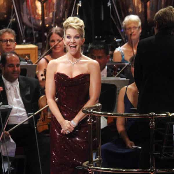 DiDonato at 2013's Last Night of the Proms at the Royal Albert Hall.