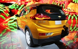 The Chevrolet Bolt EV, the first mass-market, 200-mile electric car, went on sale in California.