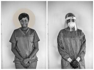 Uwate Rachel Oyindamola, Nurse, COVID19 Treatment Center Yaba, Lagos State