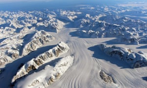 The Heimdal Glacier in southern Greenland longer days