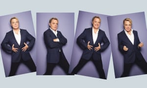 Eddie Izzard: 'I have a very strong sense that we are only on this planet for a short length of time'
