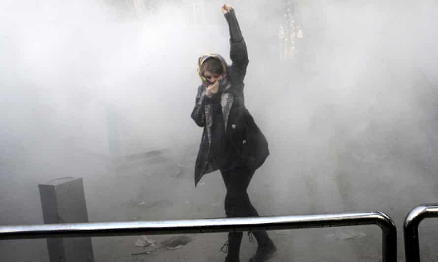 Iran protests.