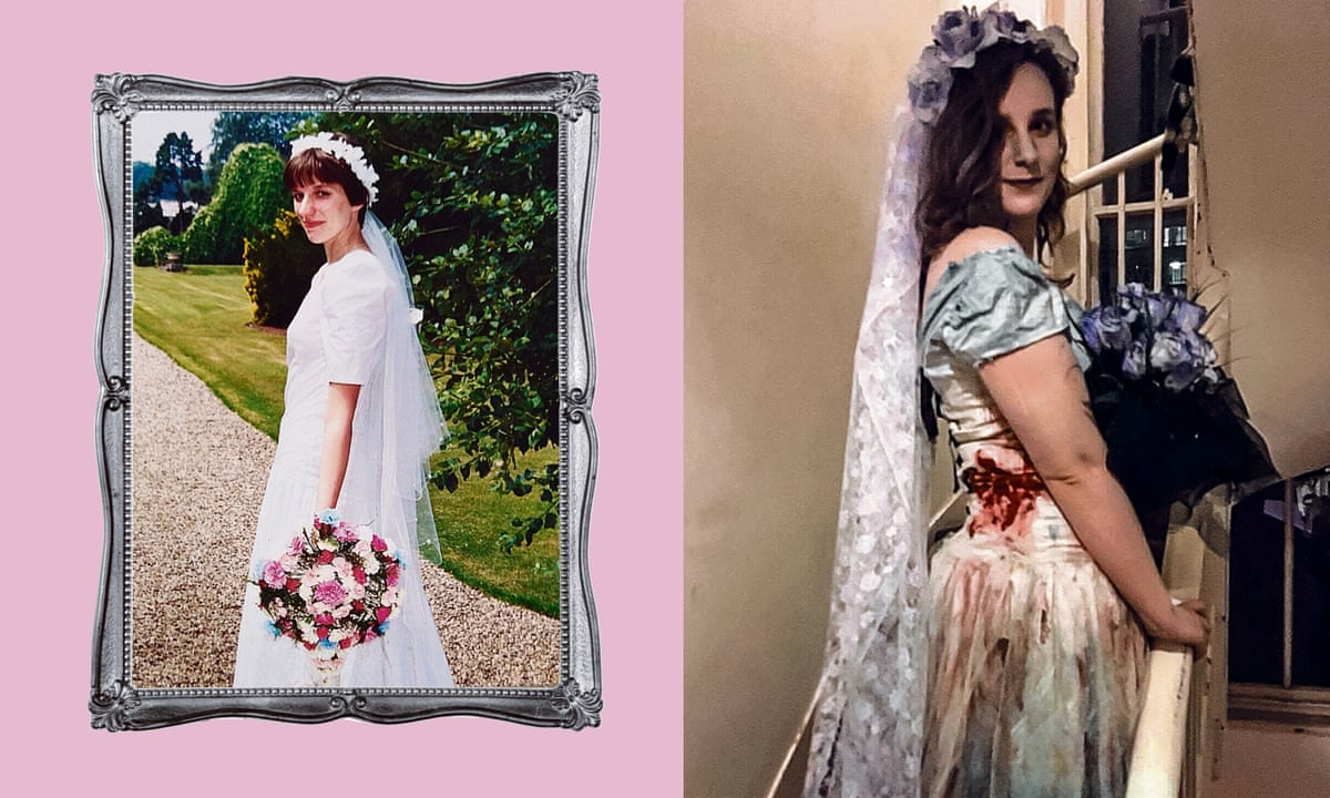 It Made A Great Corpse Bride Costume Meet The Women Recycling And Reusing Their Wedding Dresses Fashion The Guardian,Plus Size Wedding Dresses Tampa