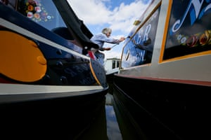 'Generally speaking, first off, owners tell me what their boat's called. If I take on a job without seeing the boat at all or without having met the people, I won't tell them how I intend to decorate it until I've met them, had a chat with them and seen the boat'