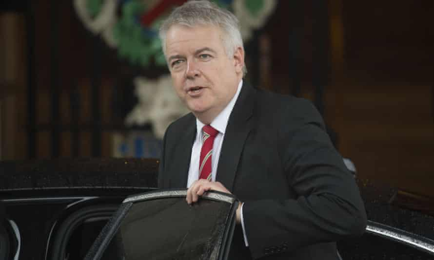 First minister of Wales, Carwyn Jones.