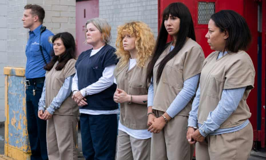 Lining up for more … Orange Is the New Black.