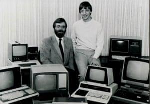 Paul Allen with Bill Gates in 1981.