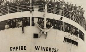 The Empire Windrush in 1948