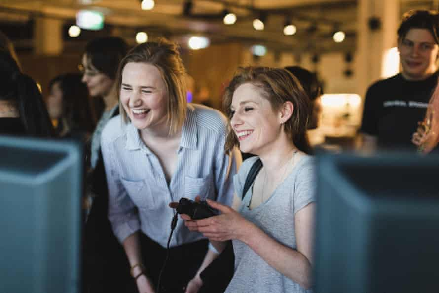 Female games makers